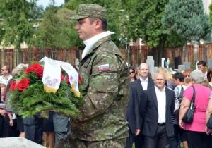 Na cintoríne si uctili padlých v Slovenskom národnom povstaní