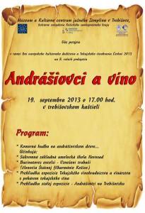 Andrassyovci a vino- KC JZ 19.9