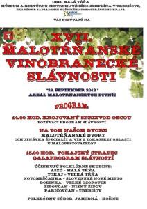 Malotrnianske vinobranie 2013