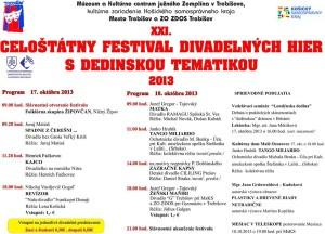 festival divadelných hier