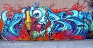 Trebišov skrášli street-art a graffiti
