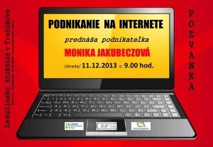 podnikanie na internete - pozvánka1
