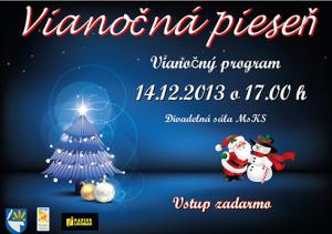 Vianočná pieseň pre všetkých Trebišovčanov