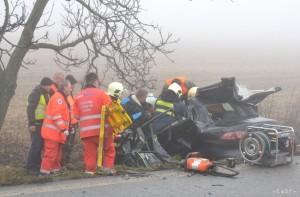 Včera sa medzi Sečovcami a Dargovom odohrala vážna dopravná nehoda