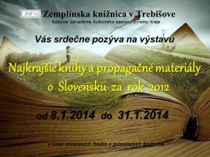 Najkrajšie knihy a propagačné materiály o Slovensku dorazili do knižnice v našom meste