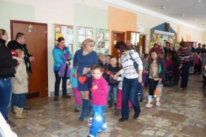 Budúci prváci prišli s rodičmi na Deň otvorených dverí ZŠ Komenského