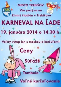 Karneval na trebišovskom ľade