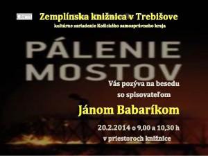 Babarík Ján pozvánka