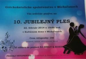 10. Jubilejný ples v Michaľanoch
