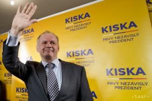 Prezidentom Slovenskej republiky sa v júni stane manažér Andrej Kiska