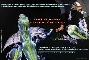 Popredný člen Umeleckej besedy slovenskej, Emil SEMANCO, prináša svoju tvorbu do kaštieľa v Trebišove