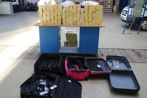 Pri obci Leles zadržali vyše 43 000 pašovaných cigariet