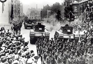 Victory Parade tanks