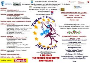 Festival Slovákov žijúcich v zahraničí sa koná tradične na 1.mája