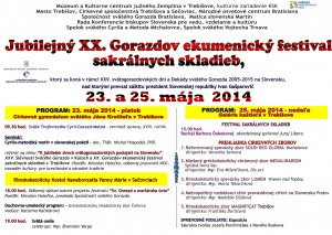 XX. Gorazdov ekumenický festival sakrálnych skladieb