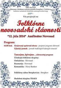 Tradičné folklórne slávnosti si užijete v Novosade