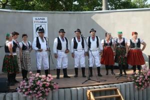 Obec Slivník oslavovala 715. výročie od svojho vzniku. Dominoval zemplínsky folklór.
