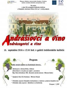 9. ročník populárneho podujatia Andrássyovci a víno je na spadnutie. O vystúpenie požiadalo sláčikové trio z Bratislavy