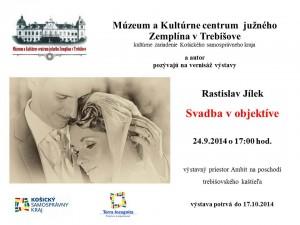 Inšpiratívnu výstavu svadobných fotografii otvoria v trebišovskom múzeu