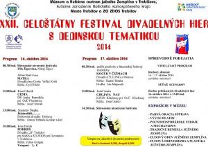 Celoštátny divadelný festival opäť v našom meste!